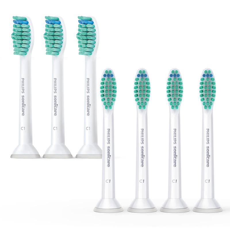 新設計插拔式刷頭, 更換刷頭更便利 提供更寬廣的振幅, 貼近牙齒鄰接面提示型刷毛確保您獲得有效的潔牙效果本產品為刷頭(耗材),不適用2年全球保固規範
