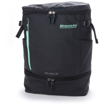 ビアンキ Bianchi ボックスリュック (クロブルー)