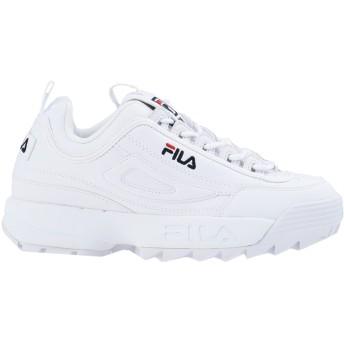《セール開催中》FILA HERITAGE レディース スニーカー&テニスシューズ(ローカット) ホワイト 9 紡績繊維 DSTR97 CB