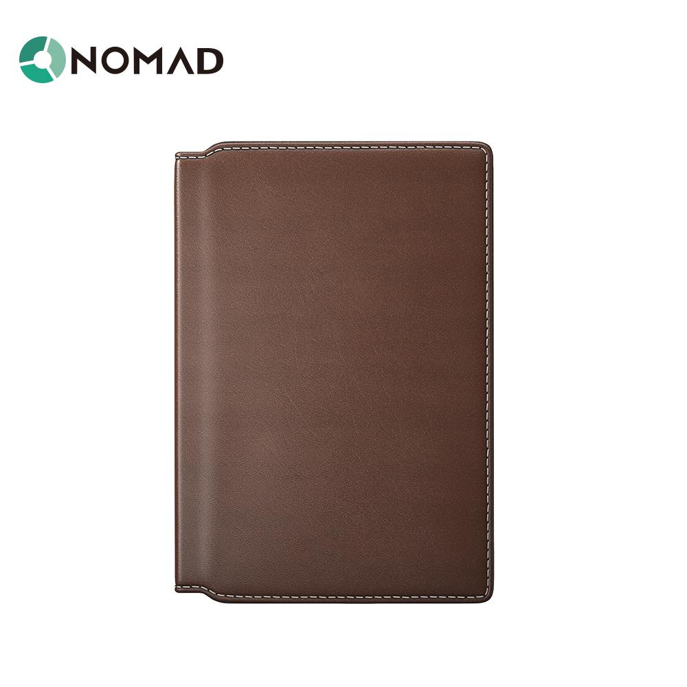 美國NOMADxHORWEEN 摩登皮革護照夾-棕