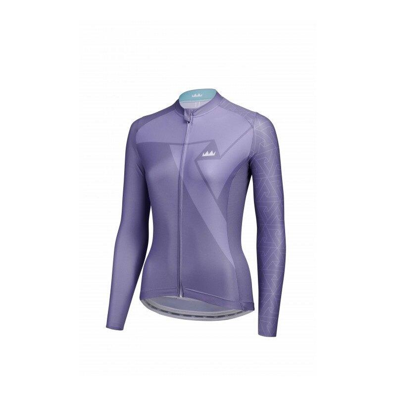 【7號公園自行車】JAW PRIME 女性排汗長袖車衣(紫)
