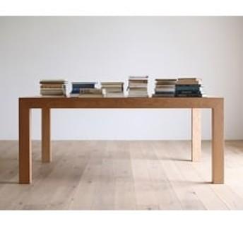 国産家具 無垢材テーブル CARAMELLA DiningTable 182x84cm oak