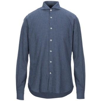 《セール開催中》BARBATI メンズ シャツ ブルー 41 コットン 100%