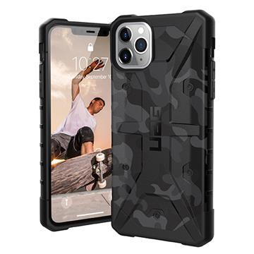 UAG iPhone 11 Pro Max 耐衝擊迷彩保護殼 黑