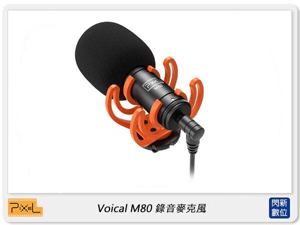 【滿3000現折300+點數10倍回饋】Pixel 品色 Voical M80 錄音麥克風 (公司貨)