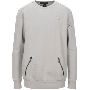 《セール開催中》MESSAGERIE メンズ スウェットシャツ ライトグレー XXL コットン 100%