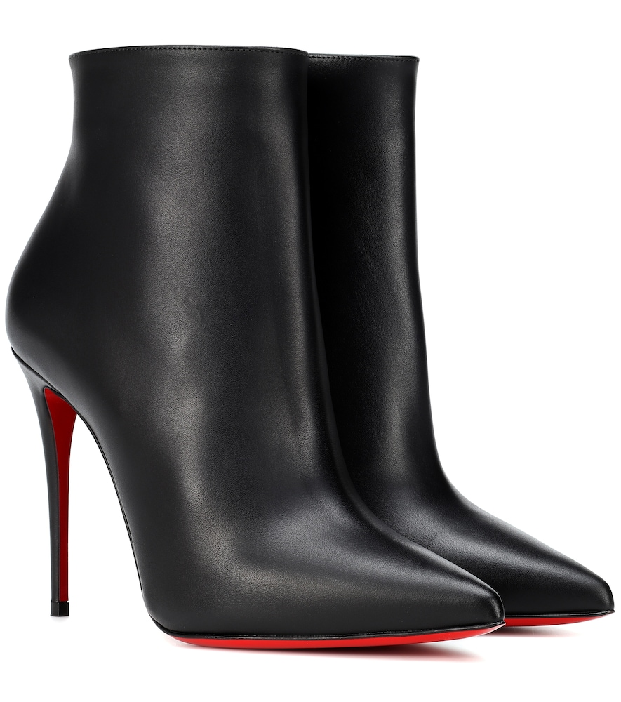 So Kate 100 leather ankle boots