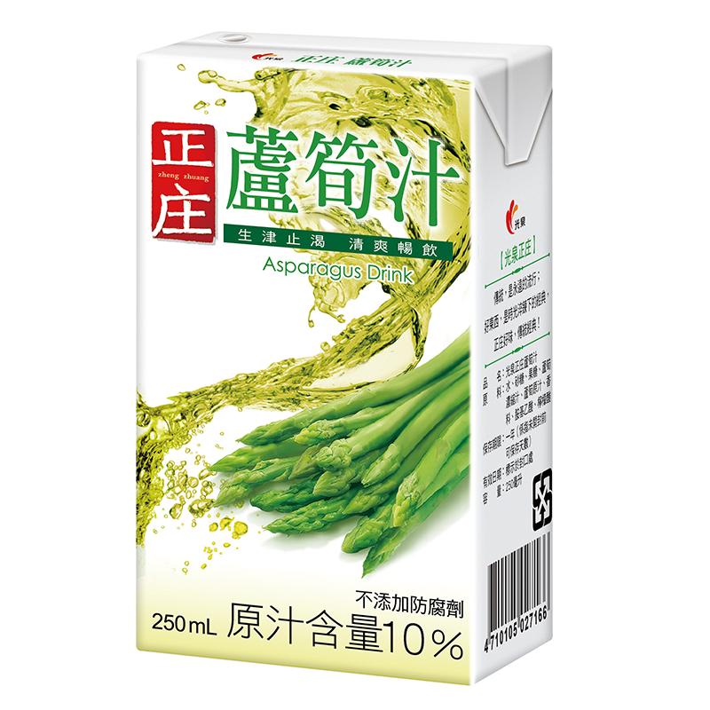 光泉正庄蘆筍汁TP250ml