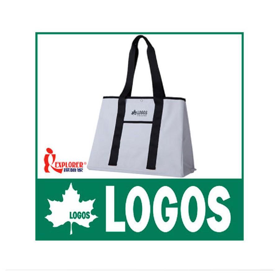 88201000日本LOGOS AQUA防水托特包-白 手提袋 肩背袋 側背斜背 大方包