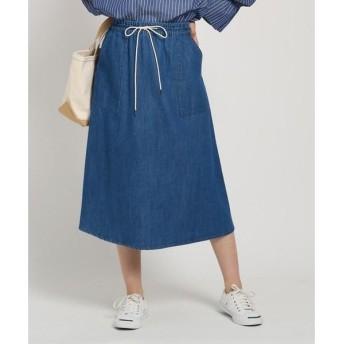Dessin / デッサン 【XS〜サイズあり・洗える】5.5OZドロストデニムスカート