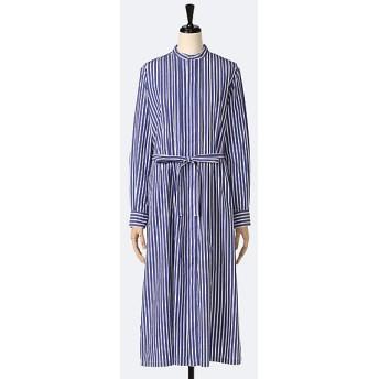 <グランマ ママ ドーター/GRANDMA MAMA DAUGHTER> 201 ストライプタックシャツワンピース BLUExWHITE【三越・伊勢丹/公式】