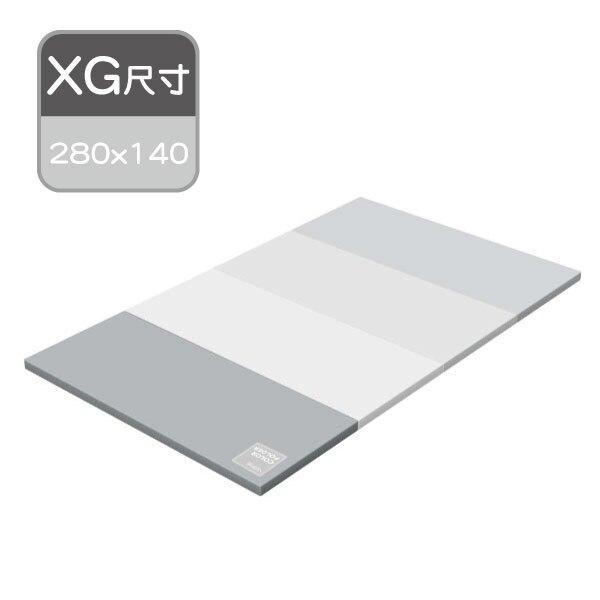 韓國ALZIPMAT ECO系列遊戲墊XG-280x140-奶灰色