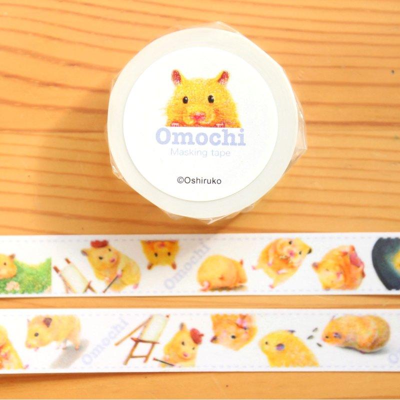 麻糬Maste~很多金熊倉鼠玩具美紋紙~