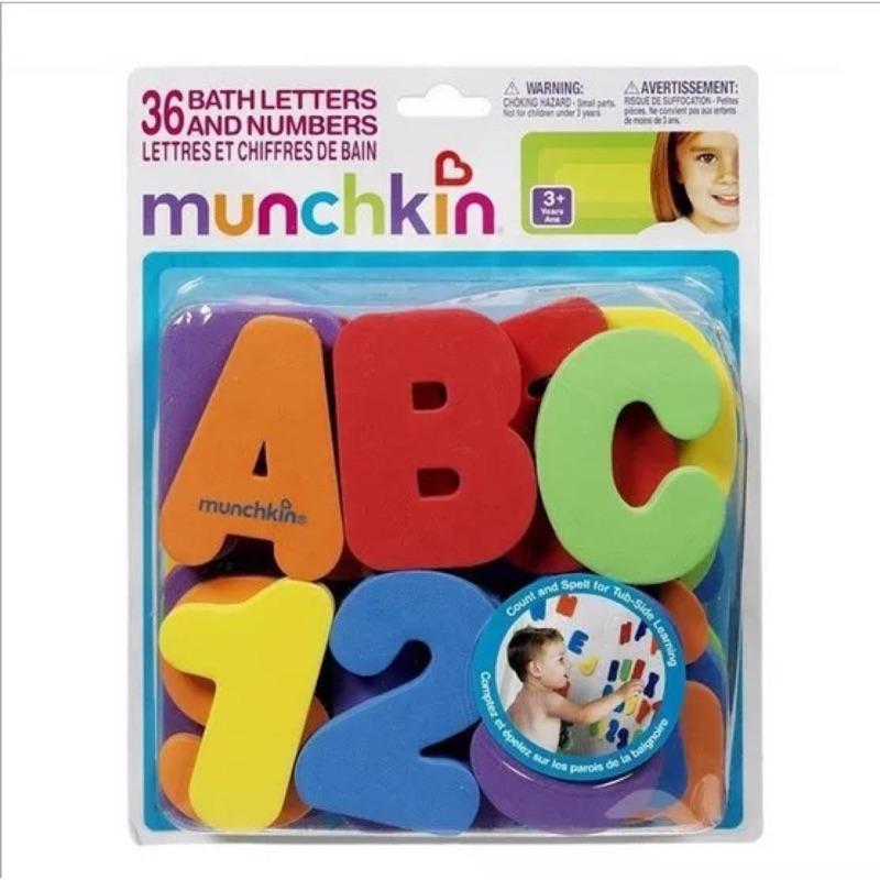 Munchkin 戲水洗澡字母數字