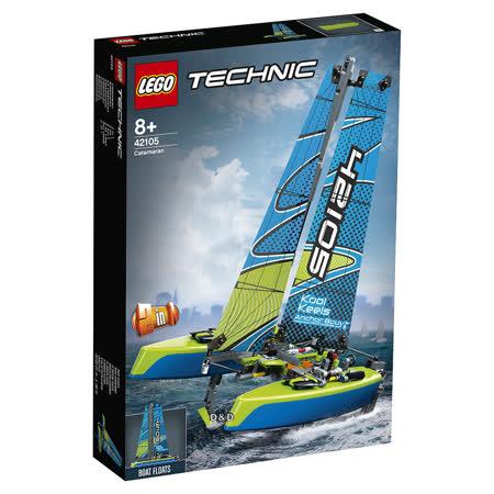 樂高 LEGO 科技系列  LT42105 雙體帆船