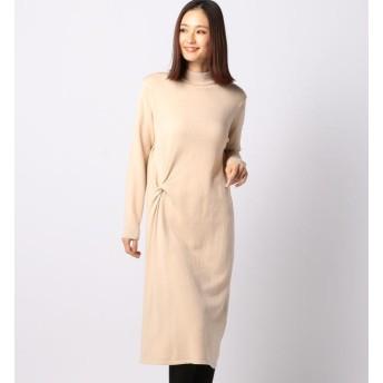 【ミューズ リファインド クローズ/MEW'S REFINED CLOTHES】 ヨコねじりニットワンピース