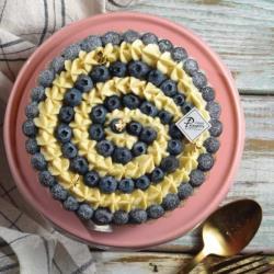 【食感旅程Palatability】轉圈圈藍莓塔(6吋)(含運)