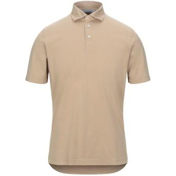 《セール開催中》FILIPPO DE LAURENTIIS メンズ ポロシャツ ベージュ 46 コットン 100%