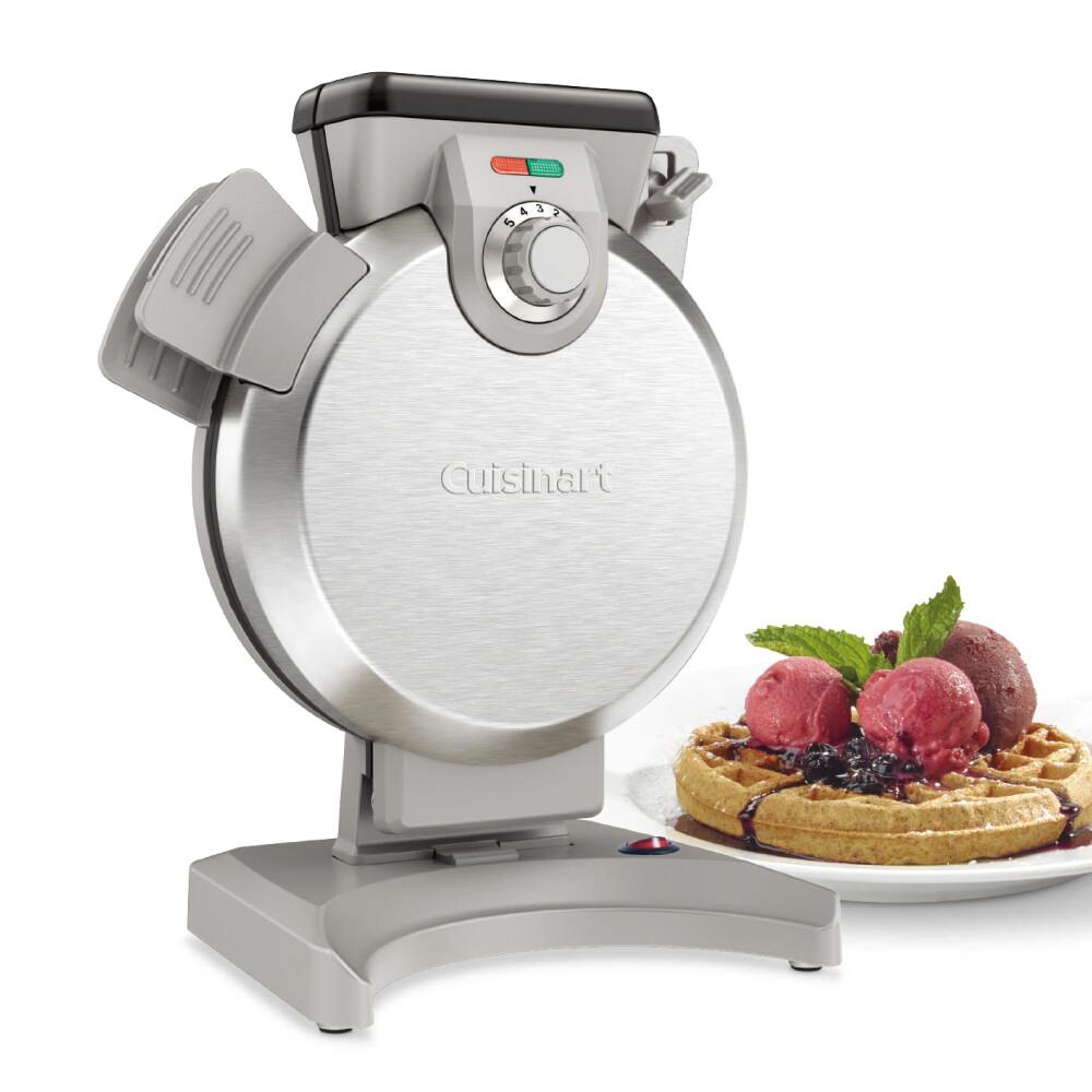 cuisinart 美膳雅 直立式鬆餅機 全新二代安全鎖扣 waf-v100