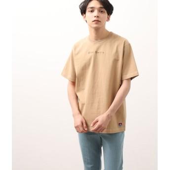 ジュンレッド/【予約】/【BEN DAVIS】配色ステッチTシャツ/ベージュ/L