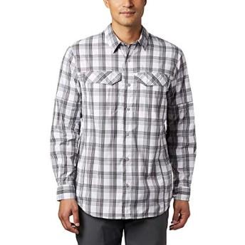Columbia(コロンビア) トップス シャツ Silver Ridge Lite Plaid Long-Sleeve Shir City Grey メンズ [並行輸入品]