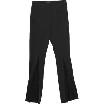 《セール開催中》KI6 WHO ARE YOU レディース パンツ ブラック 40 ポリエステル 89% / ポリウレタン 11% / ナイロン