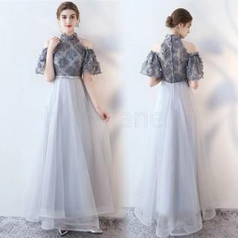 ドレス パーティードレス 20代 ロング ドレス 40代 ドレス パーティ 30代 結婚式 パーティードレス パーティードレス 大きいサイズ 秋冬 ドレス 665
