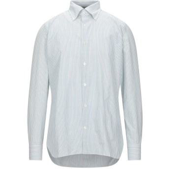 《セール開催中》GIAMPAOLO メンズ シャツ ライトグリーン 41 コットン 100%