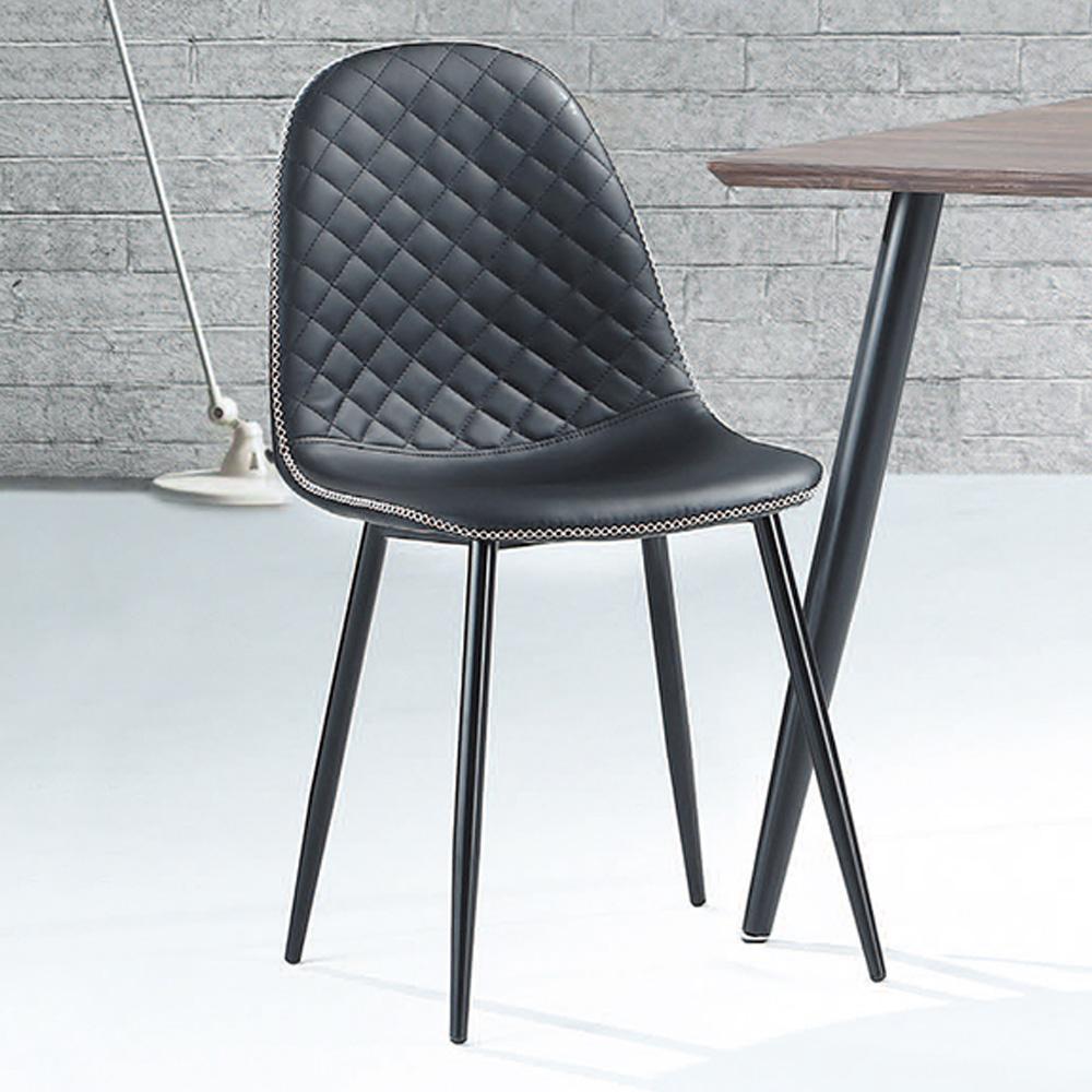 Boden-德里黑皮餐椅/單椅