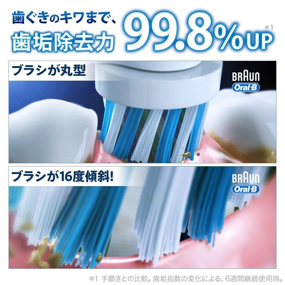 日本原裝 歐樂B全新升級3D電動牙刷 德國百靈Oral-b 3D 行家入門款電動牙刷 P500