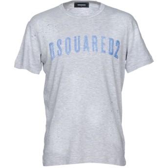 《セール開催中》DSQUARED2 メンズ T シャツ ライトグレー XXL コットン 88% / レーヨン 12%