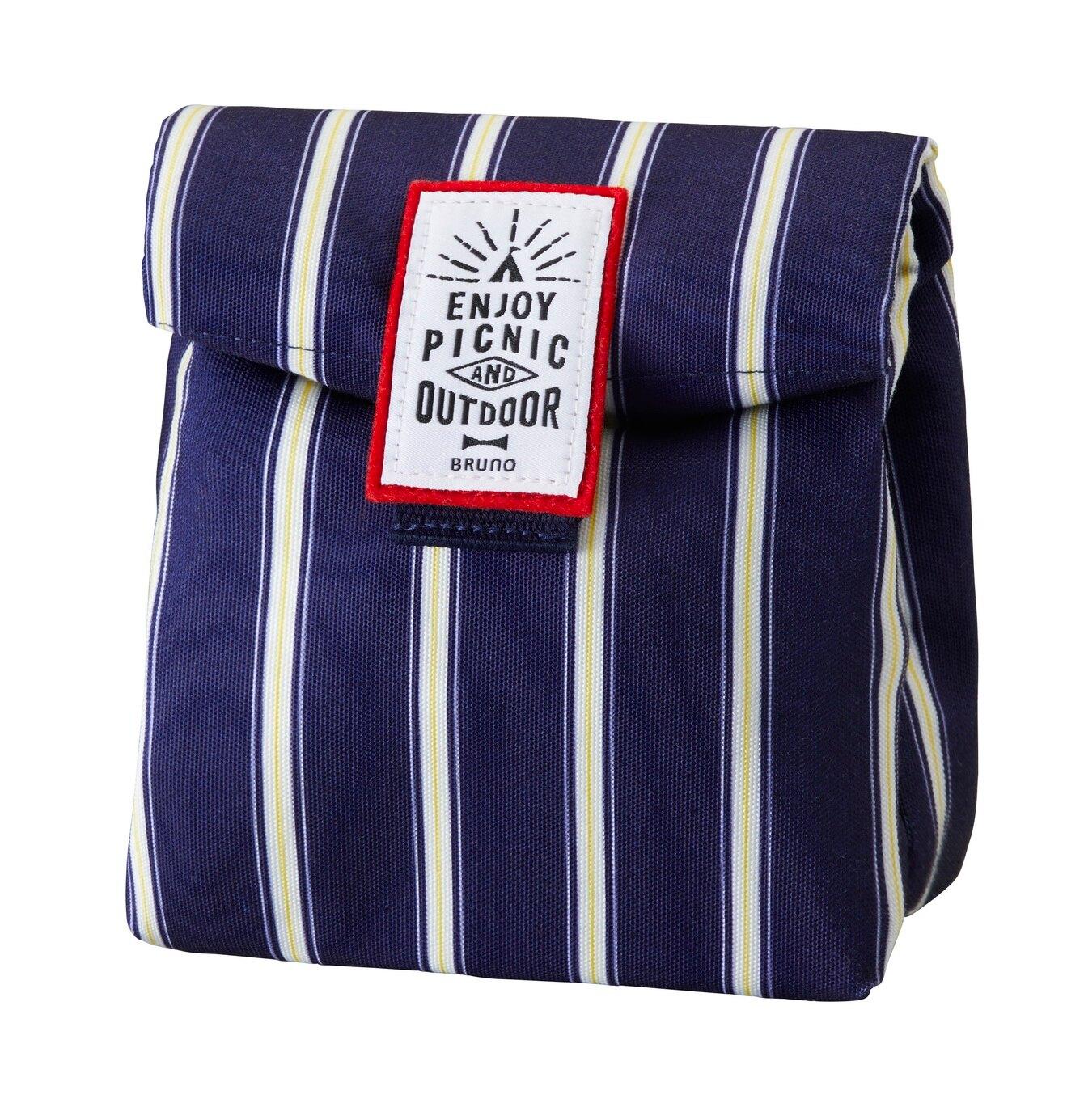 10%回饋【日本BRUNO】野趣保溫保冷午餐包BHK157