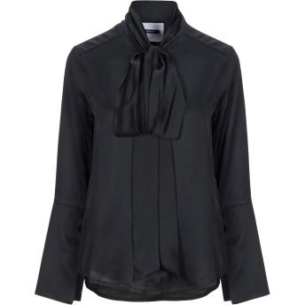 《セール開催中》DIMORA レディース シャツ ブラック 40 レーヨン 100% / ポリエステル