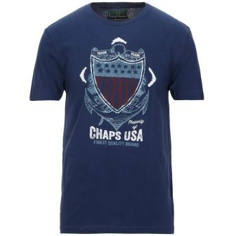 《セール開催中》FRED PERRY メンズ T シャツ ブルー S コットン 100%