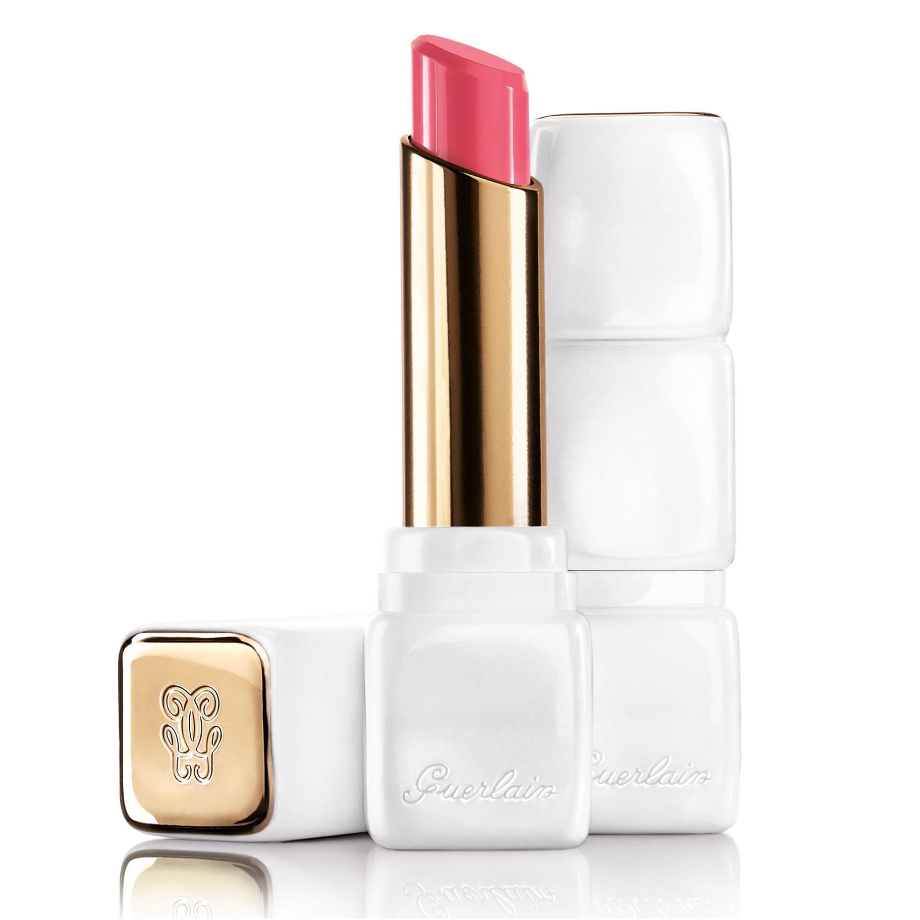 時尚白色烤漆外殼、六款優雅色調、奢華修護成分、完美柔滑,打造玫瑰唇瓣。