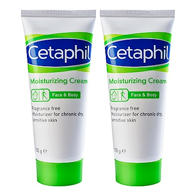 Cetaphil 舒特膚 長效潤膚霜 100g 二入組