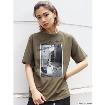 【エモダ/EMODA】 【EMODA×Ricky Powell】フォトグラフプリントTシャツ