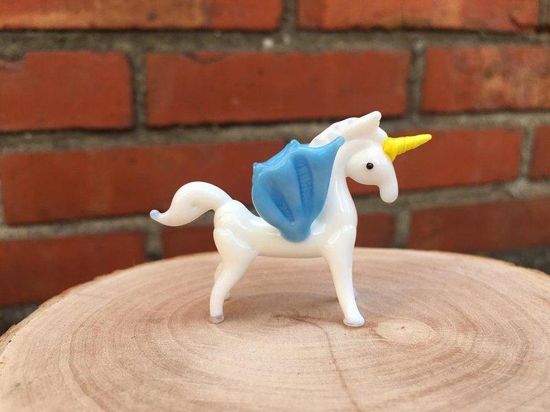 手工玻璃 獨角獸 獨角馬