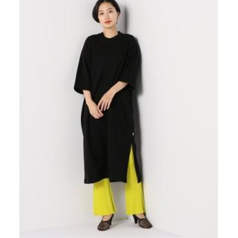 BOICE FROM BAYCREW'S 【TRADITIONAL WEATHERWEAR】SLIT LONGT DRESS ブラック S