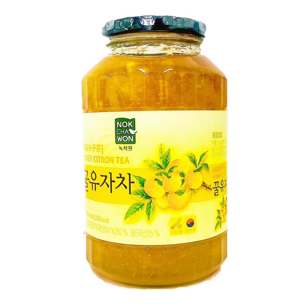 韓國蜂蜜柚子茶1kg/瓶