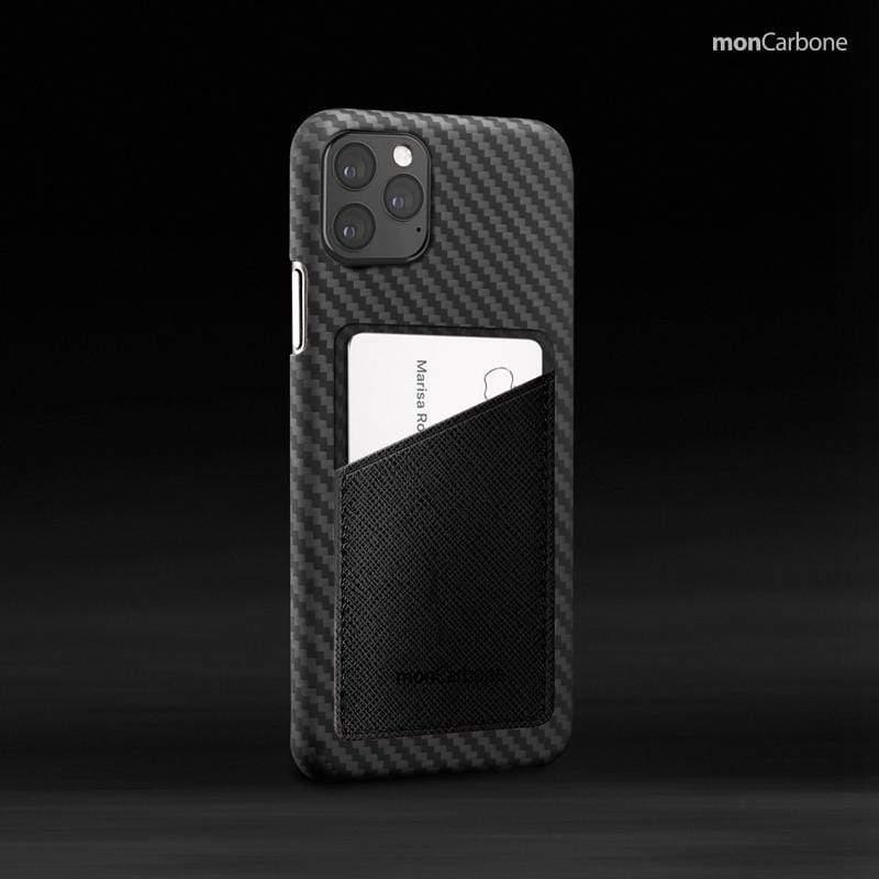 Hoverskin 皮革口袋保護殼 iPhone 11 / 11Pro / 11Pro Max – 墨玉黑 6.1吋 iPhone 11