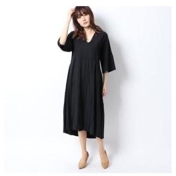 セブンティ SEVENTY ドレス (ブラック)
