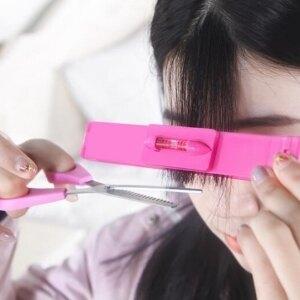 美麗大街【BF226E12E854】瀏海剪刀剪齊劉海DIY頭簾造型