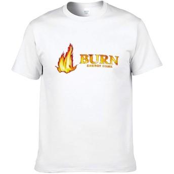 Burn Tシャツ 半袖 メンズ レディース 地味 カットソー スポーツ マルネック 薄手 シンプル 防汗 伸縮性 通気性