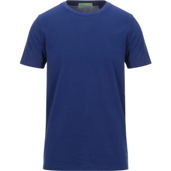 《セール開催中》SCOTCH & SODA メンズ T シャツ ブルー S コットン 100%
