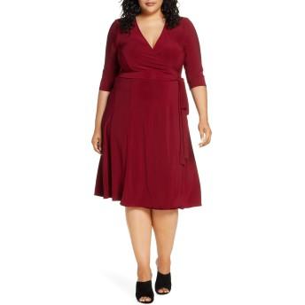 [キヨナ] レディース ワンピース Kiyonna Essential Wrap Dress (Plus Size) [並行輸入品]