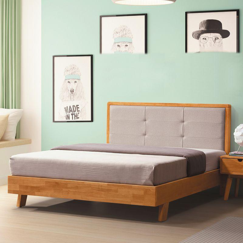 【YA178-1】碧珀橡木5尺實木床台