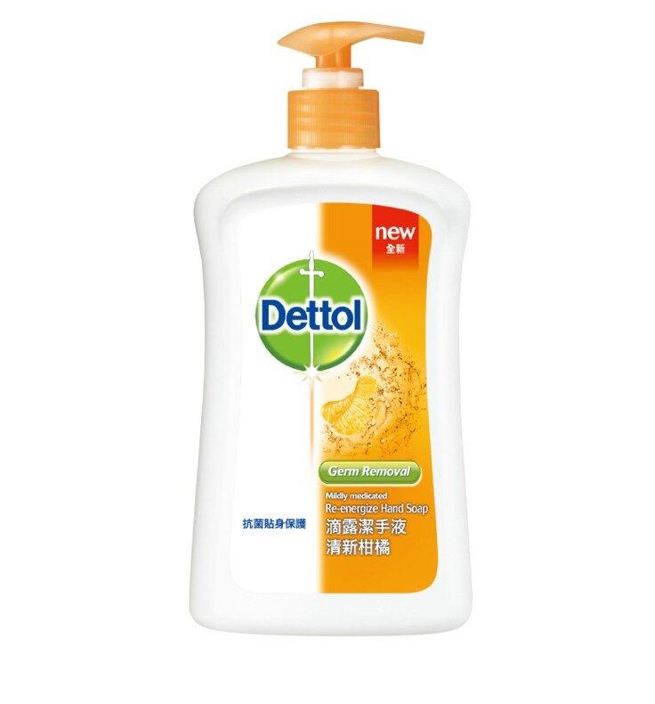 【醫護寶】滴露 Dettol 清新柑橘 抗菌潔手液250ml