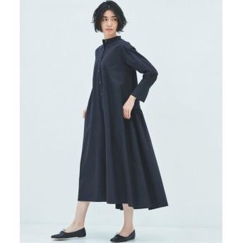 HARDY NOIR 【福田麻琴さんコラボ】ブロード後ろギャザーシャツワンピース ブラック フリー