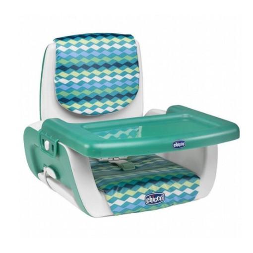 chicco Mode 攜帶式兒童餐椅 波紋綠